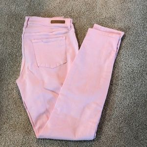 Articles of Society pink jeans. 27